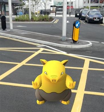 pokemon go in game
